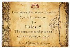 Menaka Invitation Cards Coffee With Sundar Blog Archive Eximius U002709 Is Here
