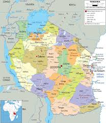 Map Of Nigeria Africa Detailed Clear Large Map Of Tanzania Ezilon Maps