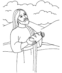 The Bread Of Life Coloring Page Bread Coloring Page