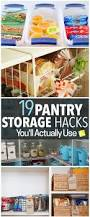 Kitchen Tidy Ideas by Best 25 Organize Food Pantry Ideas On Pinterest Kitchen