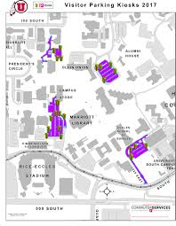 Utah Campus Map by Announcements Theu