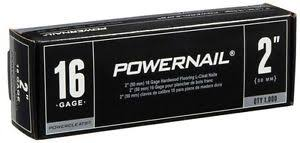 flooring nails l cleats powernail 2 in x 16 gauge powercleats
