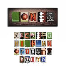 Engraved Football Gifts Personalized Football Name Art Great Gifts For Football Fans