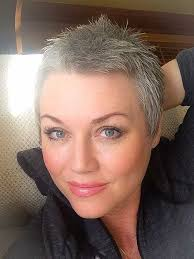 pixie grey hair styles attractive and different short pixie cuts the best short