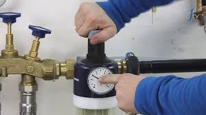 Ws Bad Und Heizung Rückspülfilter Mit Druckminderer Reinigen Und Druck Einstellen