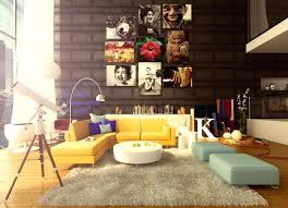 livingroom l yellow sofa living room ideas trend yellow interior design ideas