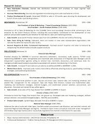 Examples Of Executive Resumes by Resume Sample 5 Senior Sales U0026 Marketing Executive Resume