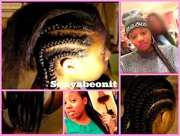 black cornrow hairstyles that cover edges how to achieve healthy no knots cornrow braids youtube