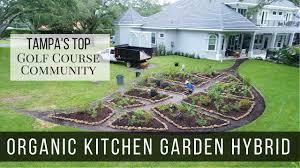 organic kitchen garden hybrid in tampa u0027s top golf course community