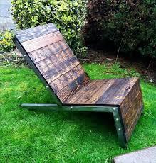 Build An Adirondack Chair Diy Industrial Pallet Adirondack Chair 101 Pallets