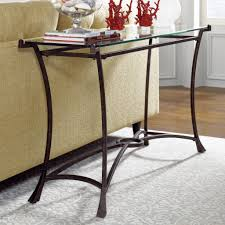 famous wrought iron sofa table glass top u2013 best image