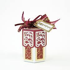 dimensions christmas cracker treat box die set 1817e tonic