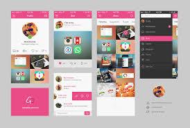 layout magazine app dribble app concept psd file at downloadfreepsd com
