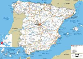 Detailed Map Of France by Maps Of Spain Detailed Map Of Spain In English Tourist Map