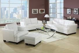Leather Furniture Living Room Sets Beautiful White Leather Living Room Sets Design White Living In