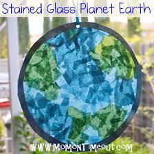 Kids Stained Glass Craft - 17 earth day crafts for kids a little craft in your day