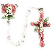 petal rosary petal rosary deluxe gift boxed christian catholic shop