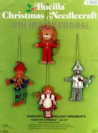 100 seasonal home decorations bucilla seasonal felt bucilla dorothy friends 4 pce felt christmas ornament kit