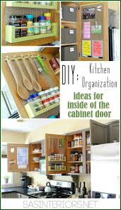 best 25 cabinet door storage ideas on pinterest diy cabinet kitchen organization ideas for storage on the inside of the kitchen cabinets by jenna burger