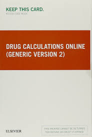 drug calculations online generic version 2 access card 1e