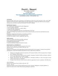 Example Of Government Resume by Physical Security Manager Resume 4dec2015