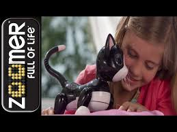 zoomer kitty black friday zoomer kitty interactive black cat toy at mighty ape nz