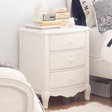 lilac bedside table pbteen