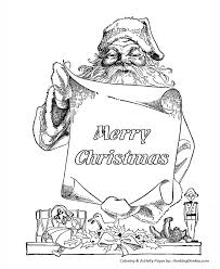 santa claus coloring pages santa claus merry christmas
