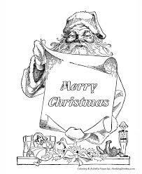 santa claus coloring pages santa claus merry christmas