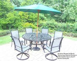 Patio Sets With Umbrellas Patio Furniture With Umbrella Best Patio Table Sets With Umbrella