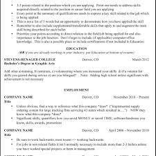 resume exles non technical resume format non technical skills resume exles