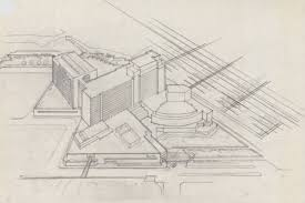 unlv libraries digital collections architectural drawing of