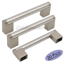 door handles kitchen cabinet door knobs chrome satin drawer