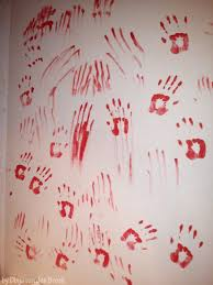 horror home decor how to make walllpaper wall paintings craft tutorials and horror