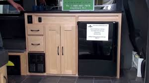 get away rv galley one cabinet youtube