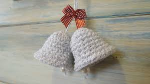 Free Crochet Patterns For Christmas Tree Ornaments Crochet How To Crochet A Christmas Bell Decoration Youtube