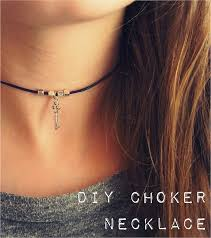 choker necklace diy images Diy simple choker necklace 90s inspired diy ideas pinterest jpg