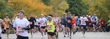 Chicago Marathon Map Chicago Marathon Adventure Marathon