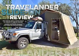 jeep camping trailer review travelander slide on unsealed 4x4