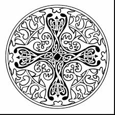impressive celtic mandala coloring pages with celtic coloring