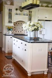 Stove On Kitchen Island 10 Elements Of A Farmhouse Kitchen Stonegable