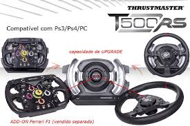volante ps3 thrustmaster volante t500rs thrustmaster ps3 ps4 e pc cockpit racing