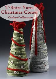 tinsel tuesdays repurpose t shirts to diy easy christmas tree