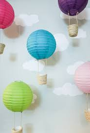 hot air balloon decorations hot air balloon decorations pretty handy girl