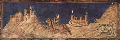 simone martini artist the hills are alive with drapery leslie fry