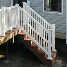 porch stairs completed composite deck stairs porch stair railing