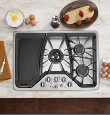 Cooktops Gas 30 Inch Ge Café Series 30