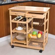 meuble de rangement cuisine a roulettes sobuy fkw04 n meuble rangement cuisine roulant en bois desserte à