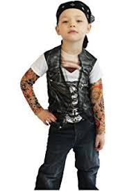 Biker Halloween Costume Amazon Child U0027s Toddler Biker Halloween Costume 2 4t Baby