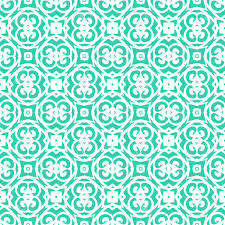 deco wrapping paper vector geometric deco pattern with lacing shapes in aqua